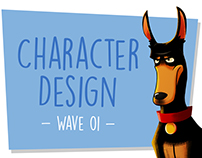 Character Design - Wave 01