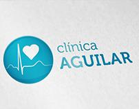 IDENTIDADE VISUAL E SITE CLÍNICA AGUILAR - 2014
