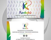 business card - konkakú