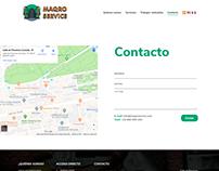 Página Web Maqro Service