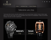 Cliente Corum Diseño Web (Analiticom)