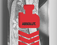 Solemne by Absolut Vodka. Book Cover