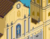 Pixel Art: Iglesia de San Francisco
