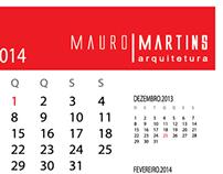 Calendário Mauro Martins