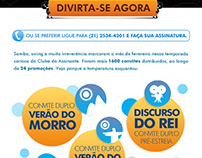 Promoções do Clube do Assinante do Globo