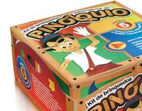 Embalagem de brinquedos educativos