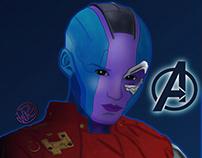 Nebula - Avengers Infinity War