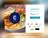 Diseño web para el portal - Club Certus