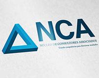 Proposta de logo NCA - Núcleo de consultores associados