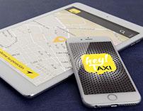 Diseño interfaz gráfica app movil