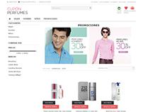 Personalización y desarrollo de Cupón Perfumes