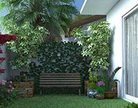 Suíte e Jardim