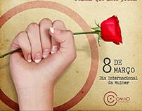 Dia Internacional da Mulher   Agência Omeio