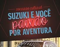 Campanha Paixão por Aventura - Suzuki
