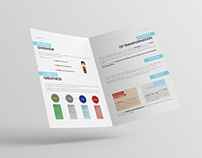 Global Leadership Academy. Brochure Design.