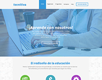 Tecnitiva - Website Mockup - UI Design