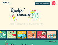 2015 I Nearpod Landing Campaña BACK TO SCHOOL