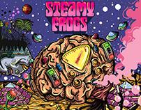 Capa Steamy Frogs