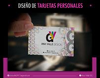 Flyer Publicitario - Tarjetas personales