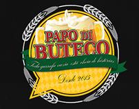 criação do logo Papo Di Buteco