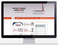 Site e blog Proatividade de Mercado