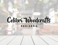 Rediseño de Logo | Colibrí Woodcrafts