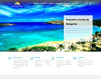 Diseño Página Web Empresa: Multidestinos Caribbean