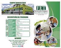 Universidad FET - Folleto Ing Ambiental