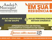 André Morcegão - Folder Impresso