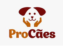 ONG ProCães - Design de marca