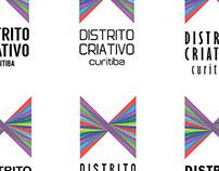 1ª parte Distrito Criativo - Estudo de logomarca