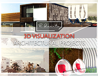 3D VISUALIZATION - Architectural Projects