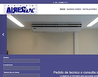 Web Design - AireSur