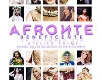 """Flyer para o evento """"AFRONTE 4"""", feito no photoshop CS6"""
