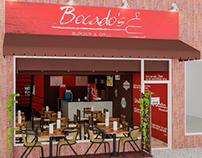 Bocados Burger & Grill Design