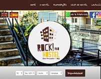 Website em Wordpress - Rock! And Hostel