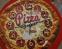 Reloj para Pizzeria