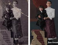 Restauración de foto