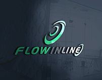 Logotipo criada para Flow Inline