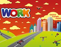 WORK, juego de construcción