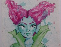 Watercolor Character Sketches