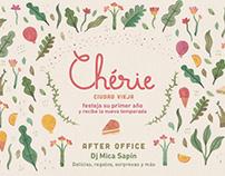 Cherie cumple años