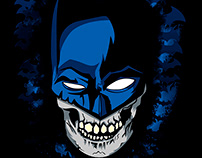 Skull - Bruce wayne - The dark knight shirt