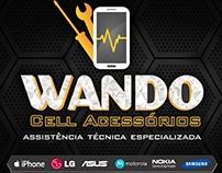 Logo - Wando Cell Acessórios