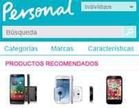 Loja Mobile Personal (Argentina)