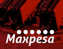 Identidade Visual - Maxpesa (Sugestão redesign)