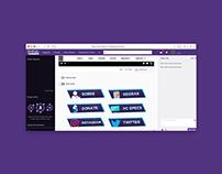 Twitch.tv Panels
