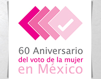 60 Anniversary of the women's vote in Mexico