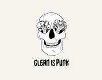CLEAN IS PUNK: Animación de Logo