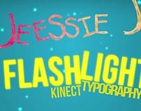 Jessie J - Flashlight (Kinect Typography)
